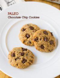 PALEO Chocolate Chip Cookies! #paleo #wholefood