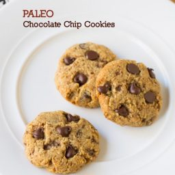PALEO Chocolate Chip Cookies! #paleo #wholefood