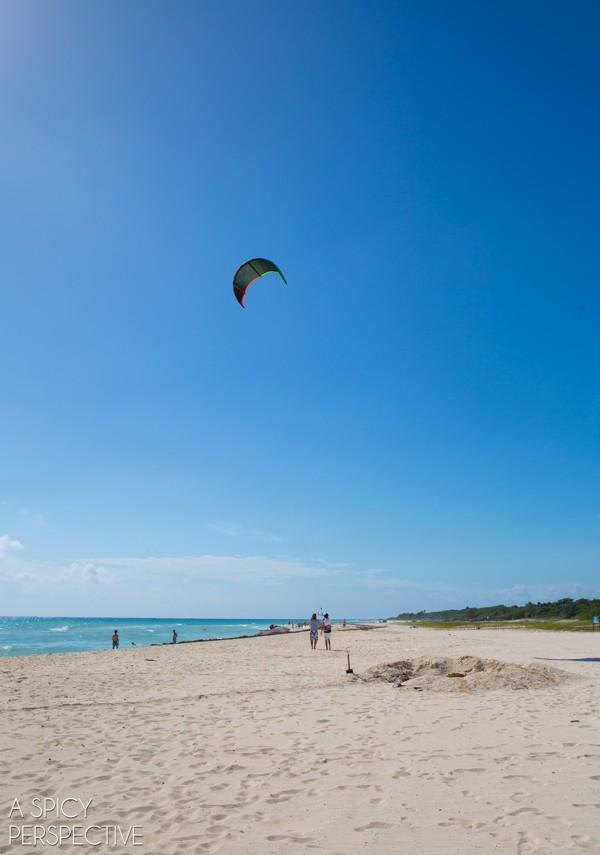 Kite - Things To Do In Playa Del Carmen Mexico #travel #mexico
