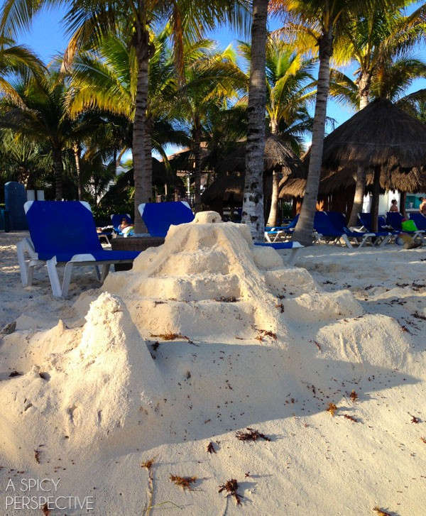 The Beach - Things To Do In Playa Del Carmen Mexico #travel #mexico