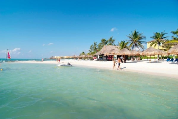 Swim - Things To Do In Playa Del Carmen Mexico #travel #mexico