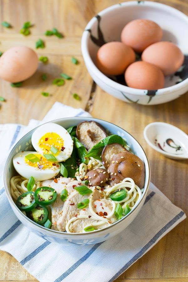 Fabulous Slow Cooker Chicken Ramen Noodles Recipe #slowcooker #crockpot