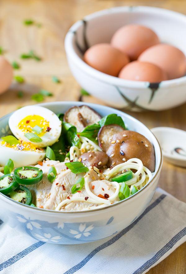 Slow Cooker Chicken Ramen Noodles