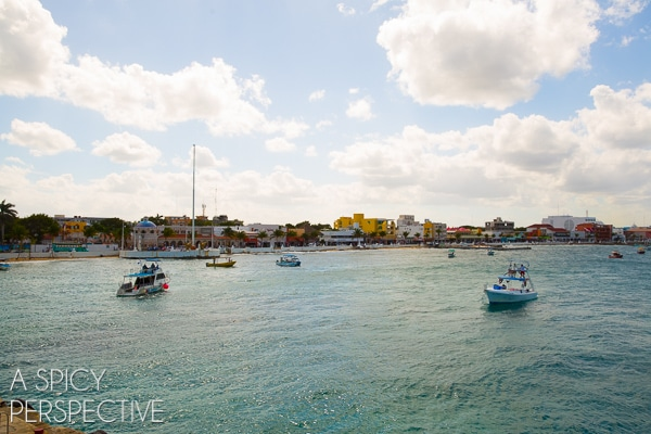 Boating - Things to do in Cozumel Mexico #travel #mexico