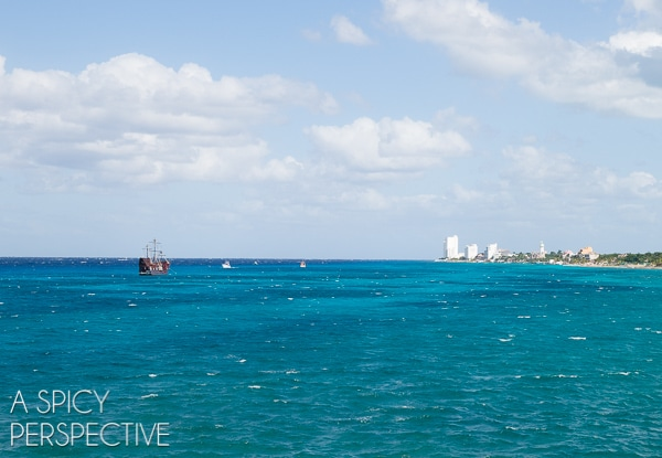 Pirate Ship - Things to do in Cozumel Mexico #travel #mexico