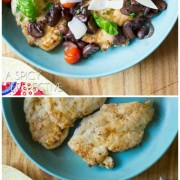 Light and Healthy Chicken Marsala Recipe with Blistered Tomatoes and Basil