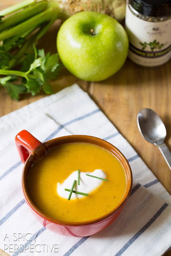 Butternut Squash Soup Recipe #soup