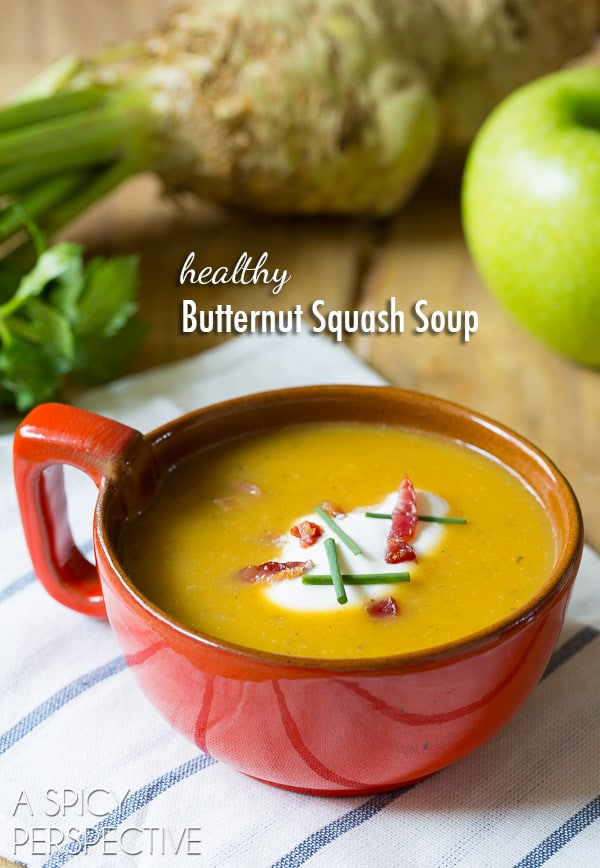 Healthy butternut squash soup recipe a spicy perspective healthy butternut squash soup recipe soup forumfinder Choice Image