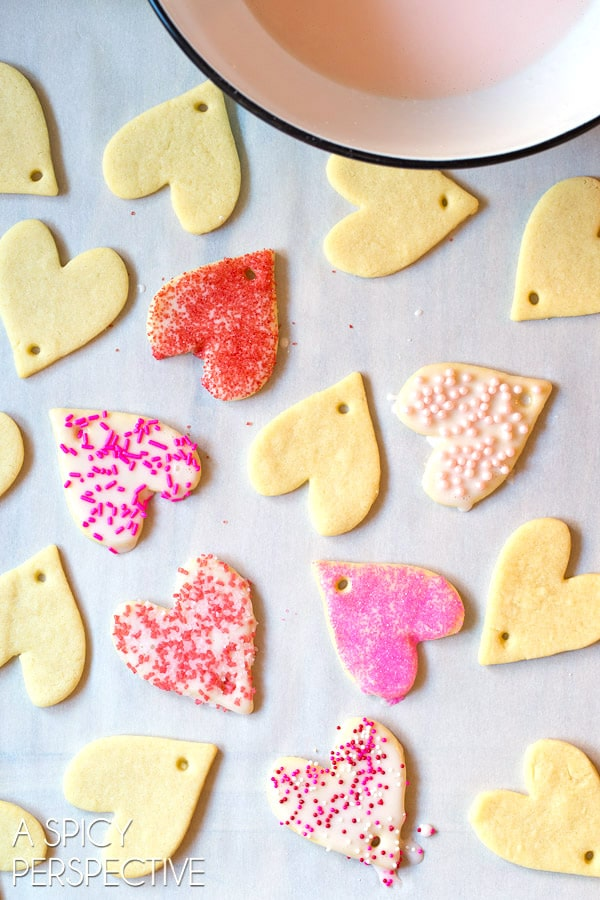 Best Cut Out Cookie Recipe on ASpicyPerspective.com