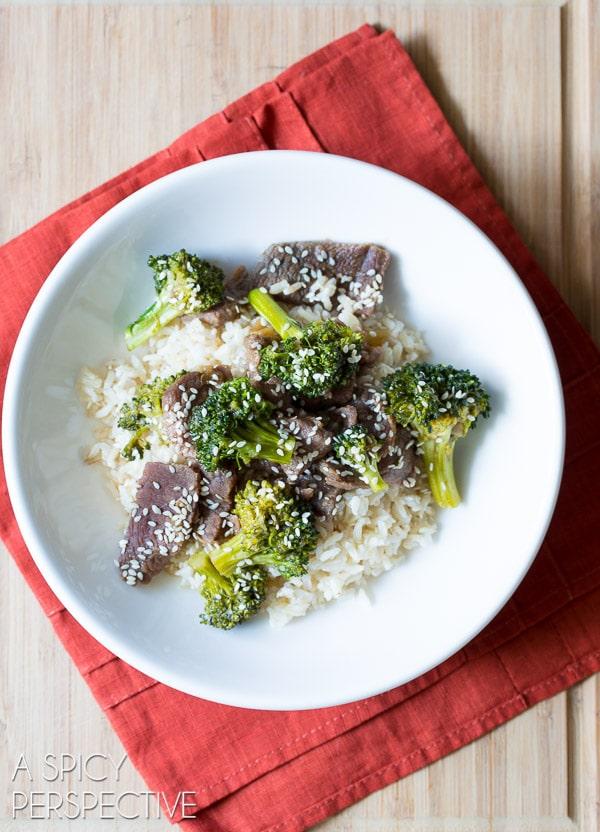 Fabulous Slow Cooker Broccoli Beef Recipe (Paleo-Friendly) #slowcooker #crockpot #paleo