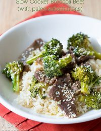 Slow Cooker Broccoli Beef Recipe (Paleo-Friendly) #slowcooker #crockpot #paleo