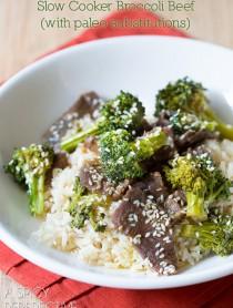 Slow Cooker Broccoli Beef Recipe (Paleo-Friendly) #slowcooker #crockpot #paleo