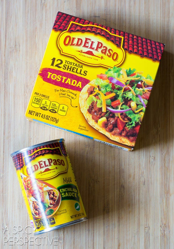 Old El Paso Ingredients