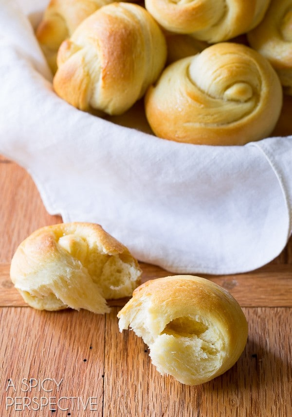 Must-Make The Best Yeast Rolls Recipe - Light, airy, and kissed with honey!