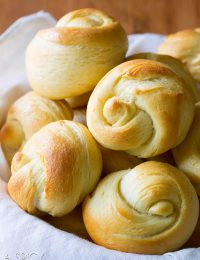 Gotta Make - The Best Yeast Rolls Recipe - Light, and airy with honey butter glaze!