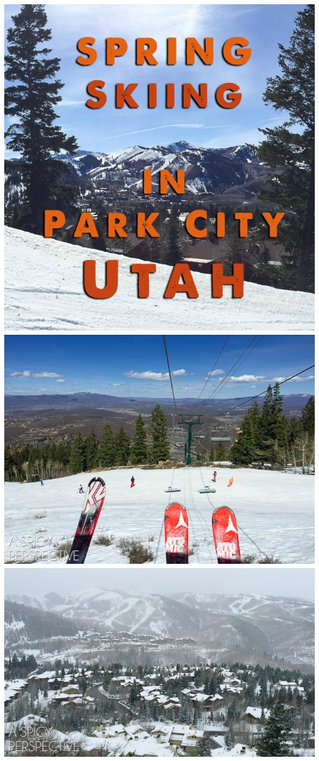 Amazing Spring Skiing in Park City Utah #travel #ski #family