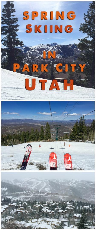 Amazing Spring Skiing in Park City Utah #travel #ski #family