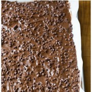 MUST-MAKE The Best Chocolate Malt Brownie Brittle Recipe on ASpicyPerspective.com #brownies #brittle