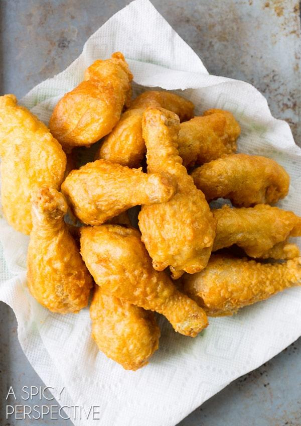 The Best Sticky-Sweet Crispy Korean Fried Chicken Recipe (The Best!) #friedchicken #korean