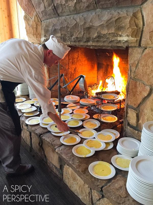 DV Fireside Dining Best Restaurants in Park City Utah #travel #utah #family