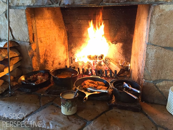 Fireside Dining - Best Restaurants in Park City Utah #travel #utah #family