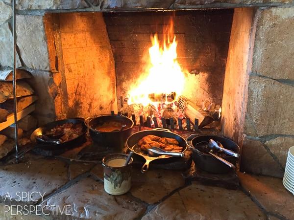 Fireside Dining - Best Restaurants in Park City Utah #travel #utah #family
