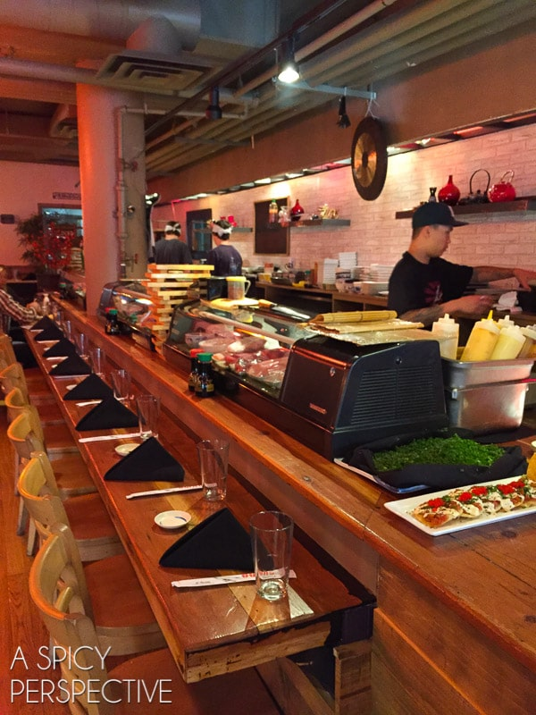 Sushi - Best Restaurants in Park City Utah #travel #utah #family