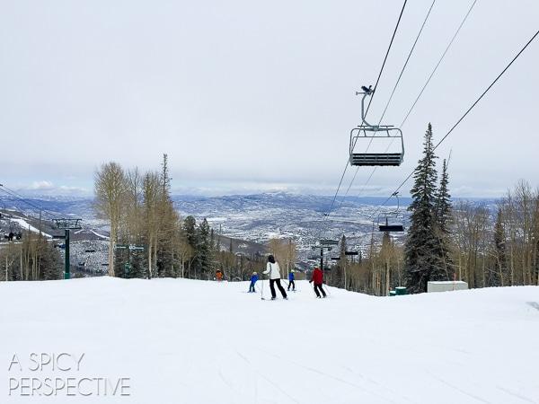 The Best Spring Skiing in Park City Utah #travel #family #ski