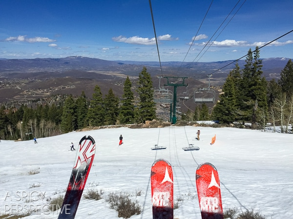 Best Spring Skiing in Park City Utah #travel #family #ski