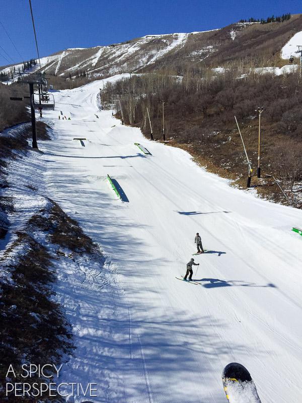 Park City Mountain Resort Terrain Parks - Park City Utah #ski #travel #family