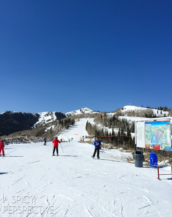Skiing Park City Mountain Resort - Park City Utah #ski #travel #family