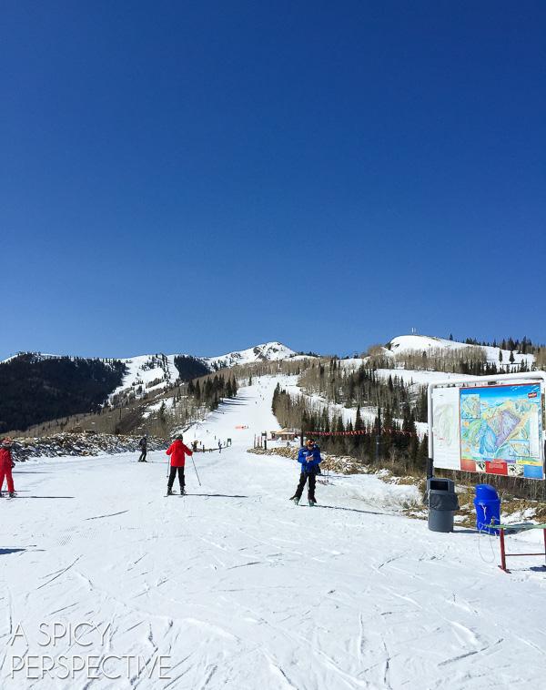 Skiing Park City Mountain Resort - Park City Utah #ski #travel #family