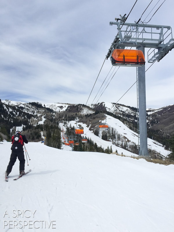 Beautiful Canyons Ski Resort - Park City , Utah #travel #family #ski