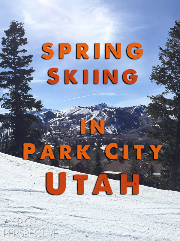Spring Skiing in Park City Utah #travel #family #ski