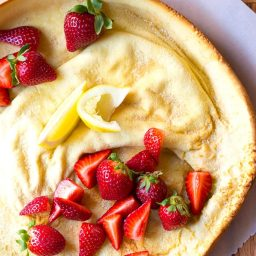 The BEST Dutch Babies! (Dutch Baby Recipe) on ASpicyPerspective.com #pancakes