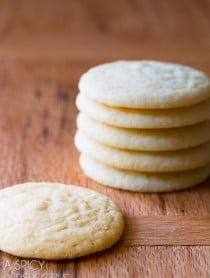 World's Best Sugar Cookie Recipe! Learn How to Make Sugar Cookies that everyone will love. Light, pillowy, & packed with flavor. #ASpicyPerspective #cookies #sugarcookie #baking #dessert