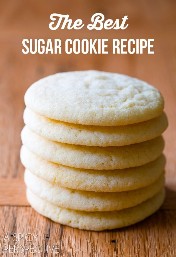 The BEST Sugar Cookie Recipe Ever! Classic perfection on ...