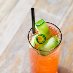 Cucumber Rose Aperol Spritz #Cocktail