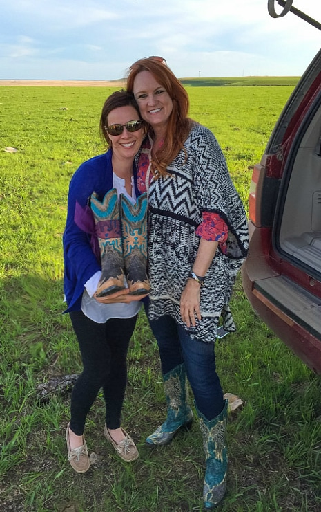 Sommer Collier and Ree Drummond