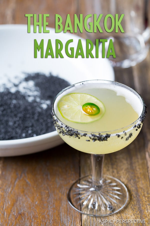 The Vibrant Bangkok Margarita #cocktail