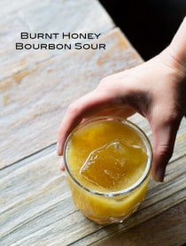 Burnt Honey Bourbon Sour