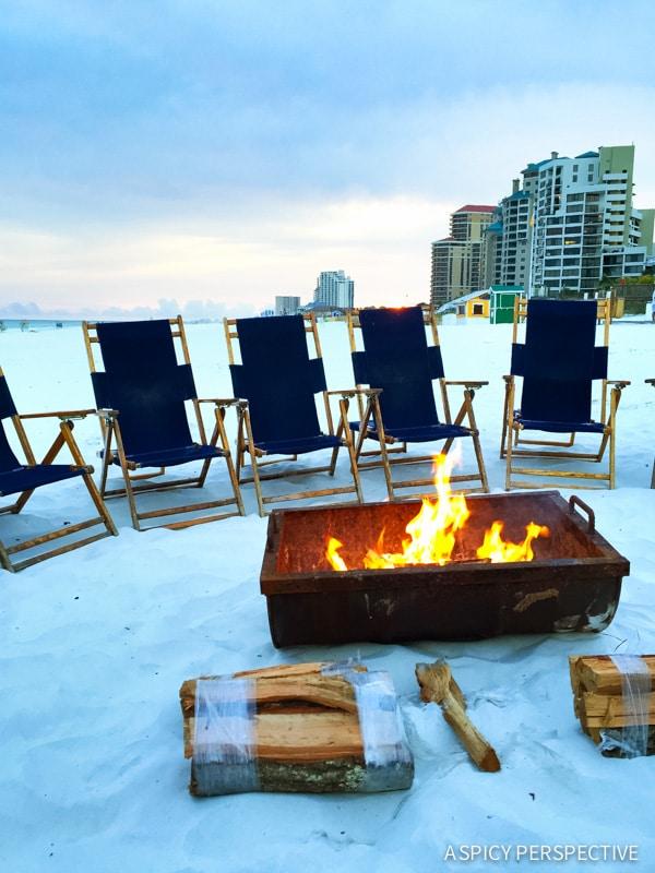 The Beach Bonfire in Sandestin, Florida - Travel Tips and Vacation Giveaway! #Sandestin #SouthWalton #travel #beach