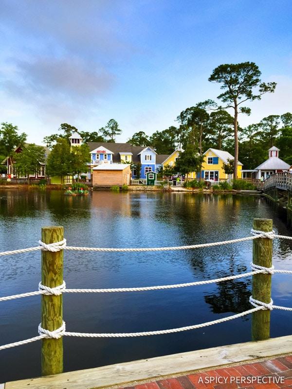 The Village at Baytowne Wharf Sandestin, Florida - Travel Tips and Vacation Giveaway! #Sandestin #SouthWalton #travel #beach
