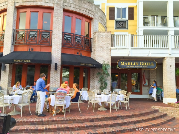 Marlin Grill in Sandestin, Florida - Travel Tips and Vacation Giveaway! #Sandestin #SouthWalton #travel #beach