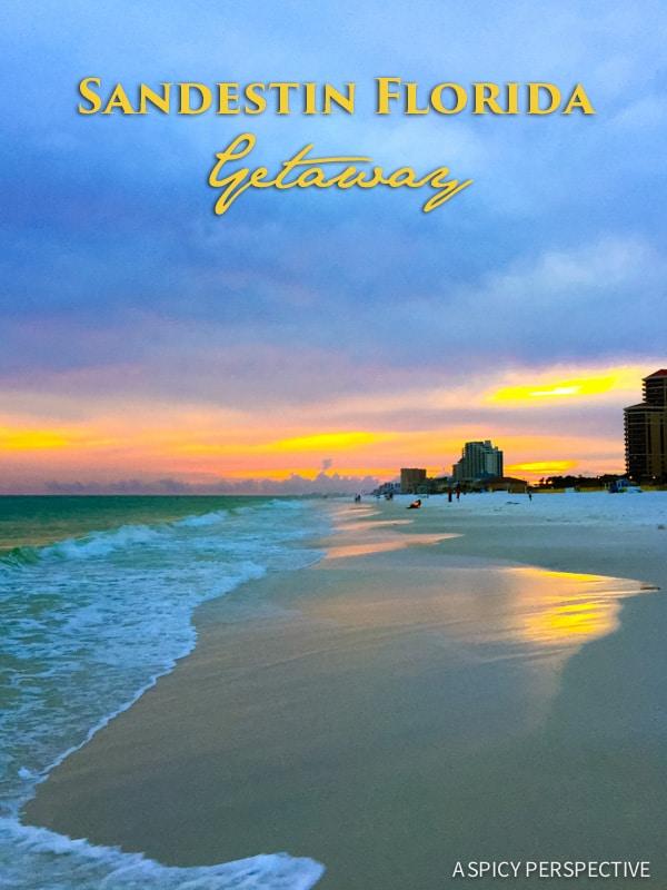 Sandestin, Florida - Travel Tips and Vacation Giveaway! #Sandestin #SouthWalton #travel #beach