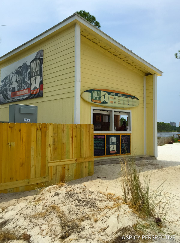 Yolo Board in Sandestin, Florida - Travel Tips and Vacation Giveaway! #Sandestin #SouthWalton #travel #beach