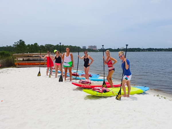 Yolo Paddling in Sandestin, Florida - Travel Tips and Vacation Giveaway! #Sandestin #SouthWalton #travel #beach