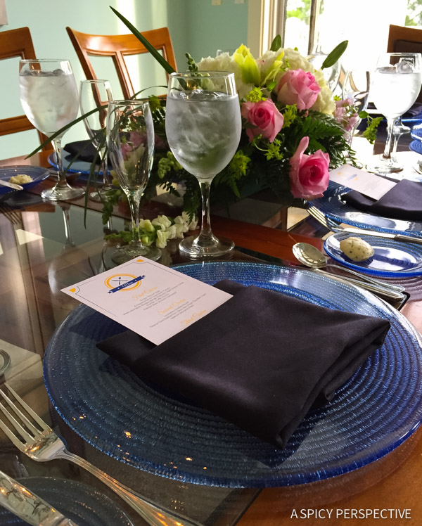 Special Dinner - Sandestin, Florida - Travel Tips and Vacation Giveaway! #Sandestin #SouthWalton #travel #beach