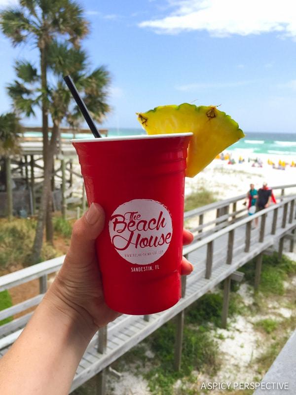 The Beach House Restaurant Sandestin, Florida - Travel Tips and Vacation Giveaway! #Sandestin #SouthWalton #travel #beach
