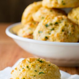 Red Lobster Cheddar Bay Biscuits on ASpicyPerspective.com #biscuits